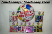 Folieballong Happy Birthday